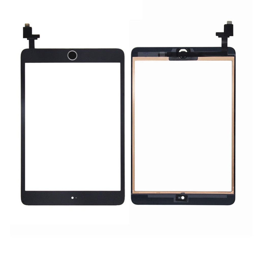 White Touch Screen Digitizer For iPad Mini 1 2 A1432 A1454 A1455 A1489 A1490