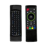 2.4G Draadloze Afstandsbediening Fly Air Mouse Keyboard Toetsenbord met Usb-ontvanger Voor TV Box PC Motion Sensing Game