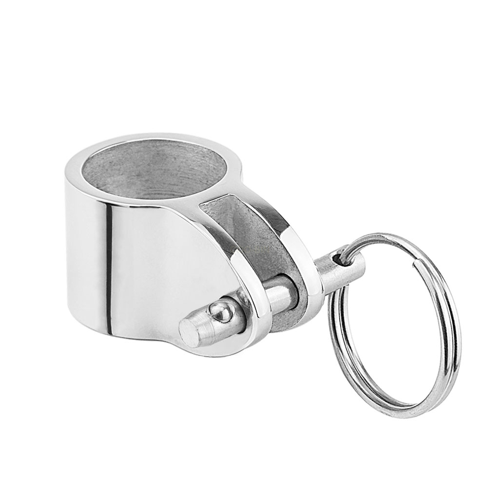 Atv,rv,boat & Other Vehicle 316 Stainless Steel 1 Inch Awning Accessories External Eye End Canopy Tube End Sailboat Yacht Boat Top Pipe Eye End Cap Hardware Automobiles & Motorcycles
