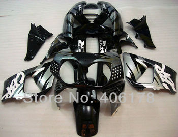 Customized Fairing For 92 93 CBR900RR 893 1992 1993 Silver and Black Motorcycle Fairings