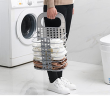 Large laundry Hamper foldable laundry basket for dirty clothes  kitchen storage rack Picnic Baskets Print toy gift Organizer