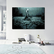Assassins Creed Rain Canvas Painting Posters Prints Marble Wall Art Painting Decorative Pictures Modern Home Decoration Artwork assassins creed leap of faith canvas painting posters prints marble wall art painting decorative picture modern home decoration