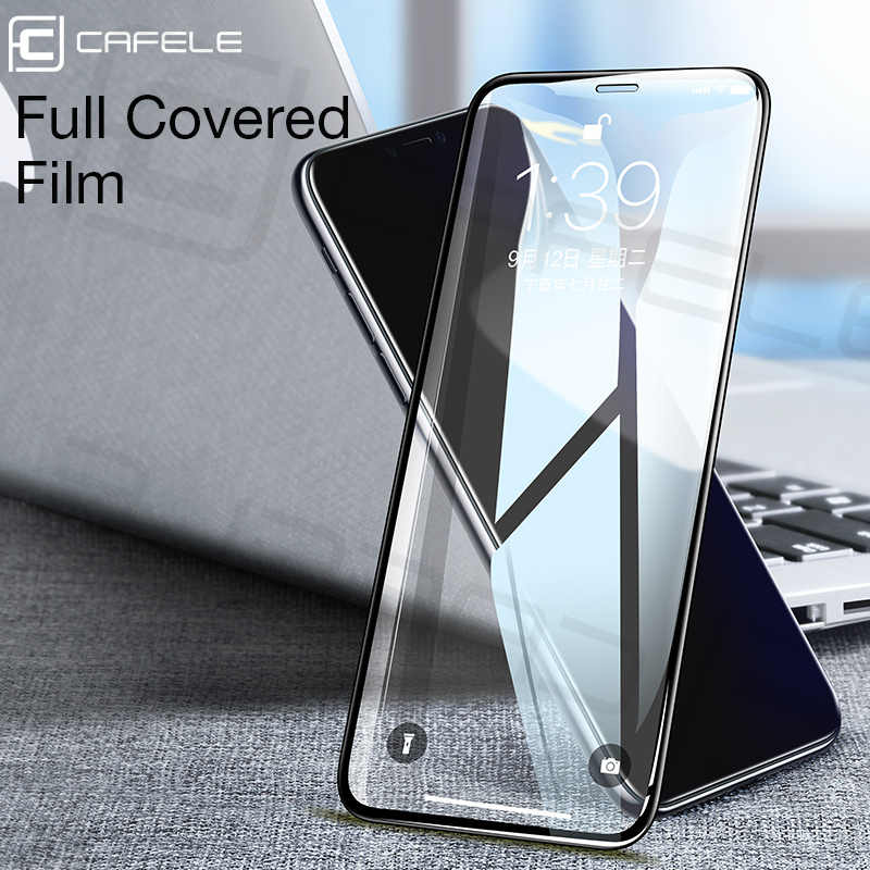 Cafele Tempered Glass Screen Protector for iPhone X Xr Xs 11 pro MAX Full Coverage 9H Hardness HD Clear
