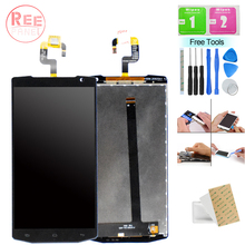 Tested Well K10000 Display For Oukitel LCD Touch Screen Digitizer Assembly Pro Glass Panel