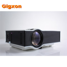 Gigxon-G40 2016 Más Nuevo 800*480 1080 p Soporte Proyector Portátil Proyector LCD Beamer Entertainmet