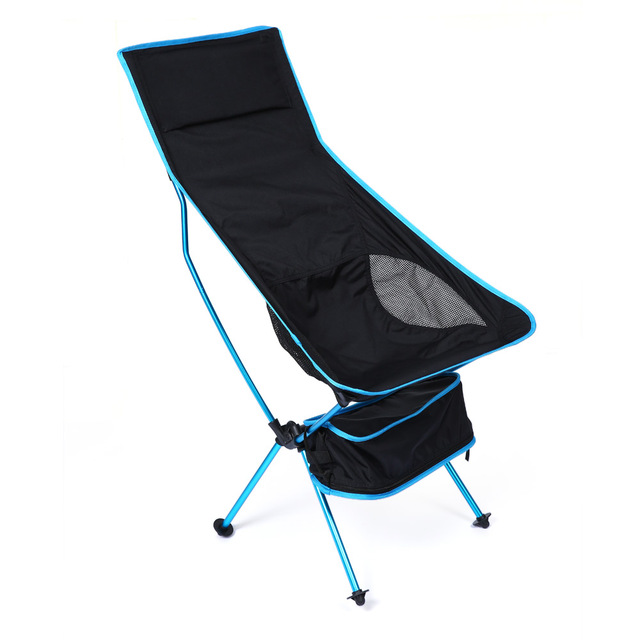 Ultra Light Folding Fishing Chair Seat For Outdoor Camping Leisure Picnic Beach Extended