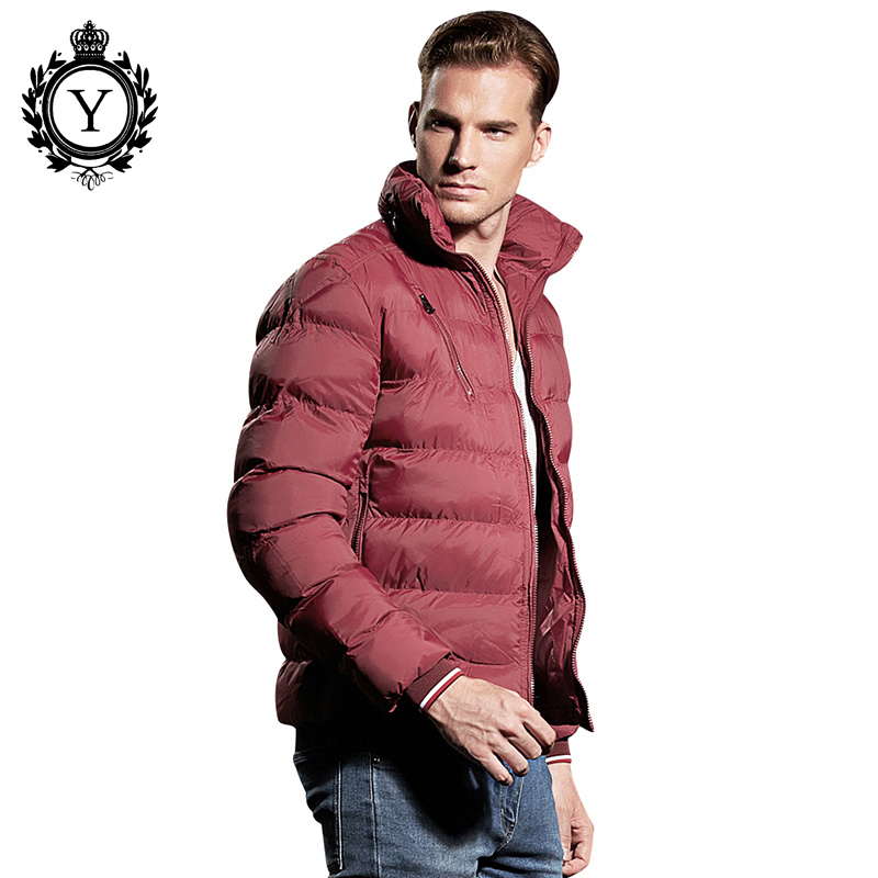 COUTUDI 2018 Casual Men's Winter Jackets Clothing Ultralight Warm Male Slim Wholesale   parkas   Hooded Collar Man Outwear Coats XXL