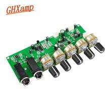 GHXAMP PT2399 Karaoke Reverb Microphone Preamplifier Board Reverberation Amplifier DIY DC12V Built in Boost Dynamic Dual P