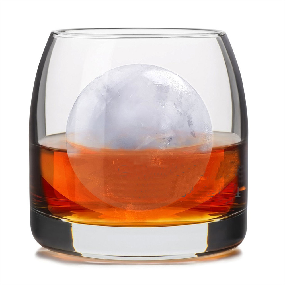 1pc Whiskey Cocktail Ice Cube Ball 4 Large Sphere Mold