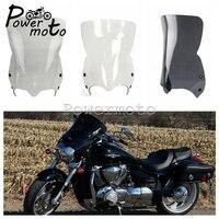 3 Colors Motorcycle Windshield Polycarbonate Windscreen Wind Deflector Spoiler For Suzuki Boulevard M109R M90 M50 2006 2016