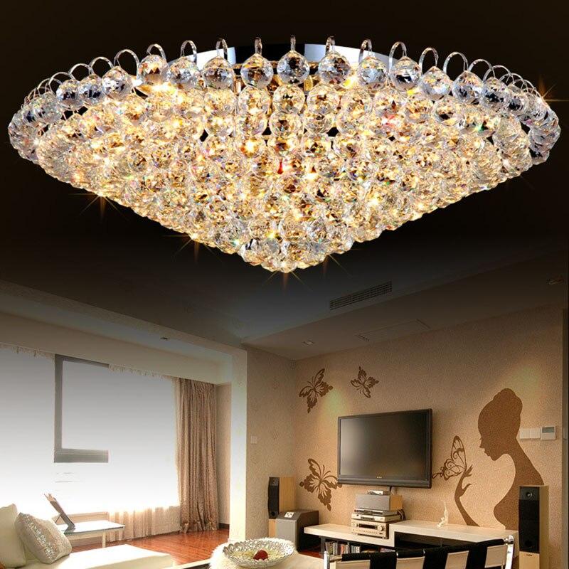 NEW Led Luxury Hotel Ceiling Light Bedroom Round K9