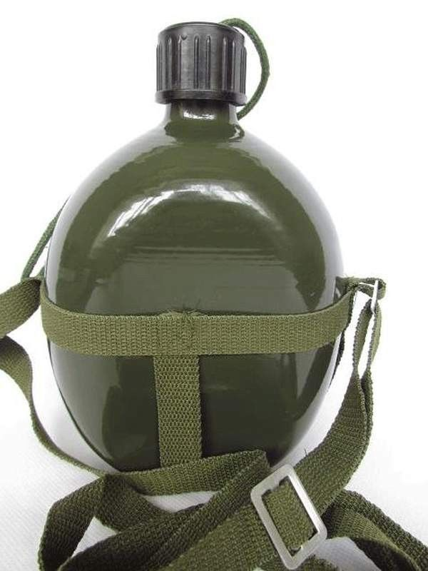 Objective Vietnam War Chinese Pla 65 Type Canteen Army Green-cn013 Refreshing And Enriching The Saliva Sports Souvenirs