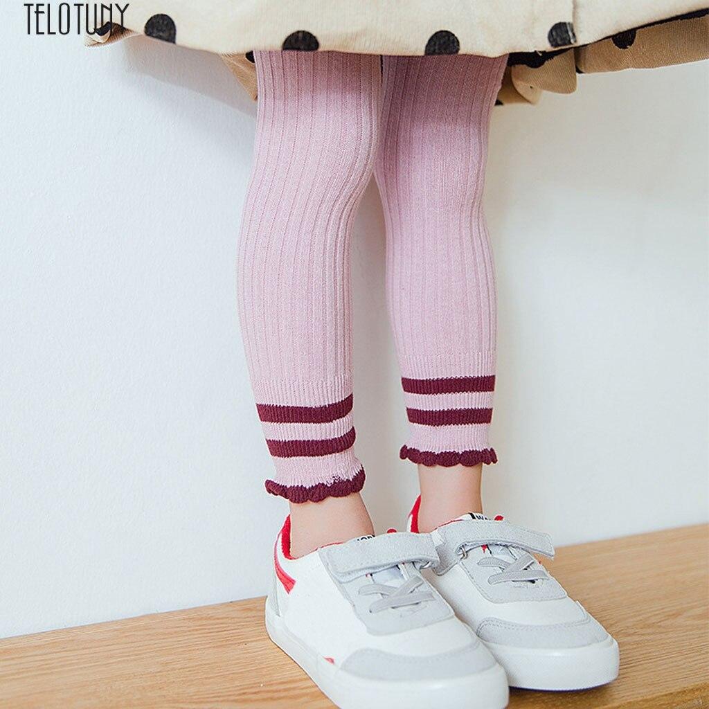 Bescheiden Arloneet Neugeborenen Mädchen Gestrickte Dünne Leggings Streifen Hosen Strumpfhosen Streifen Dünne Hosen Nette Knit Stretchy Warme Leggings Z1214 Attraktive Mode