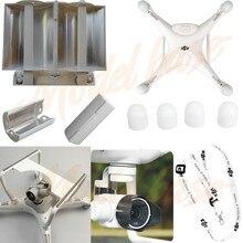 Lente de la cámara Parasol Cap + Motor guardia Protector de correa para el Cuello + Cámara Gimbal + Antena Range Booster para DJI Phantom 4