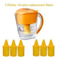 3.5L Alkaline water pitcher filter en ionisator kruik Pack 7x refill vervanging filters Puur Gezond Mineraalwater Ionisator Filter|water pitcher filter|ionizer filterwater ionizer filter -