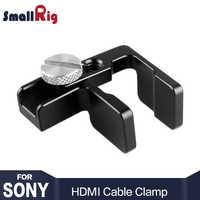 SmallRig HDMI ケーブルクランプソニー A6500 A6300 A6000 カメラ SmallRig ケージ 1661/A7 A7S SmallRig ケージ 1815 電気ショック療法 ----1822