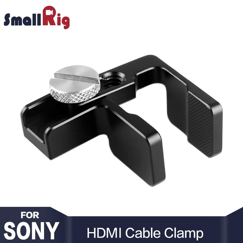 UK NICEYRIG GH5 GH5S A6000 A6300 A6500  A7S A7R HDMI Cable Clamp For Sony Camera