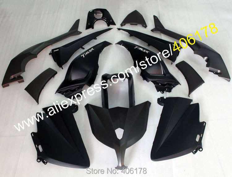 Hot Sales,Cheap Price For Yamaha TMAX 530 2012-2014 T-MAX 530 TMAX530 Matte Black Sport Bike ABS Fairing (Injection molding) hot sales for yamaha tmax530 parts 2012 2014 tmax 530 12 14 tmax 530 motorcycle body aftermarket kit fairing injection molding
