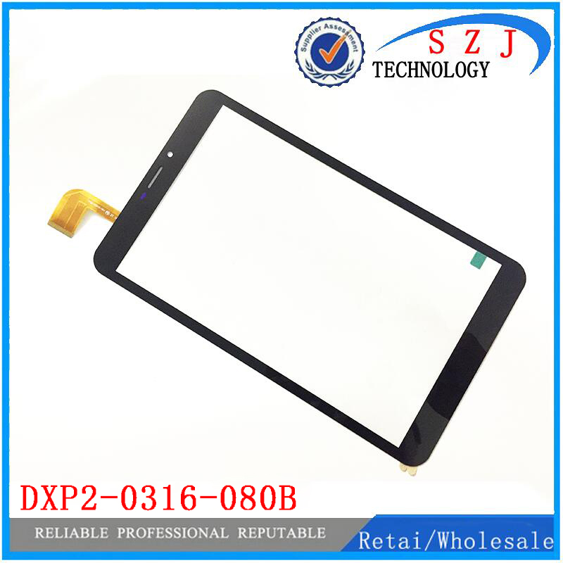 New 8'' inch touch screen panel digitizer Sensor for DXP2-0316-080B Digitizer Glass Sensor replacement Free shipping 10pcs black new for 5 qumo quest 510 touch screen digitizer panel sensor lens glass replacement free shipping
