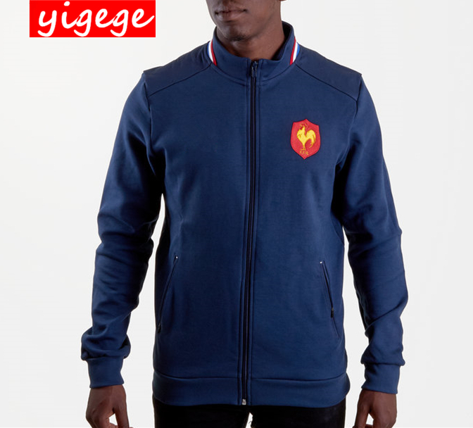 2019 France Jacket Rugby Jerseys France Rugby shirt national team League Jacket jersey S-3XL2019 France Jacket Rugby Jerseys France Rugby shirt national team League Jacket jersey S-3XL