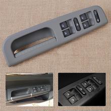 DWCX интерьер автомобиля серый окно Главный переключатель+ панель ободок ручка отделка 1J4 959857 для VW Bora Passat Jetta 3B0867175 3B1867171E