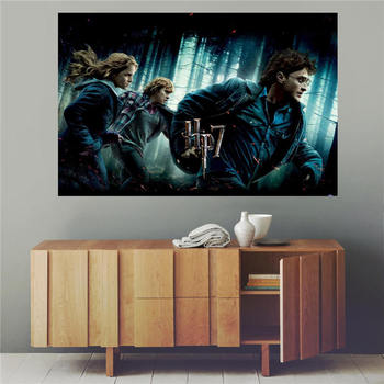 New arrive harry potter Canvas Silk Poster for Home Decor Custom Print painting Art Picture FREE SHIPPING SQ00706-H03