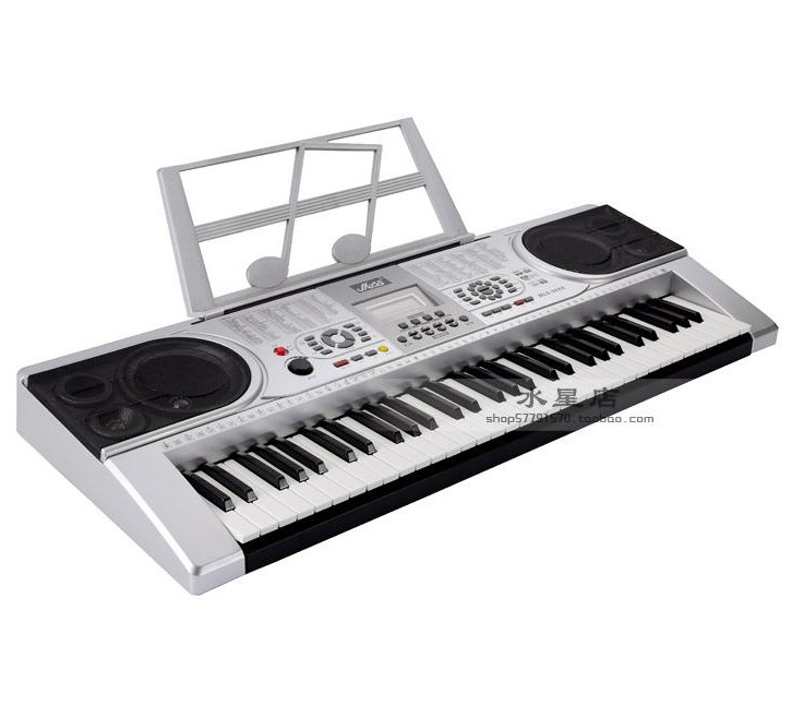 mls 9688 professional keyboard 61 usb key piano keyboard free shipping in electronic organ from. Black Bedroom Furniture Sets. Home Design Ideas