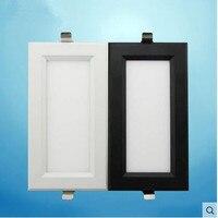 2pcs Double Super Bright Recessed Square LED Dimmable Downlight COB 15W LED Spot Light LED Decoration