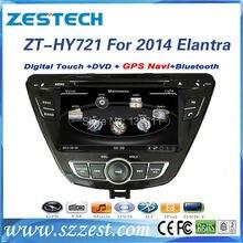 ZESTECH High performance dual-core HD digital touch screen Car dvd for Hyundai Elantra 2014 Car dvd with radio,RDS,3G