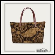 Snakeskin women handbags (9) brand genuine leather bag women fashion serpentine prints leather handbags female large shoulder bags hobos tote bag