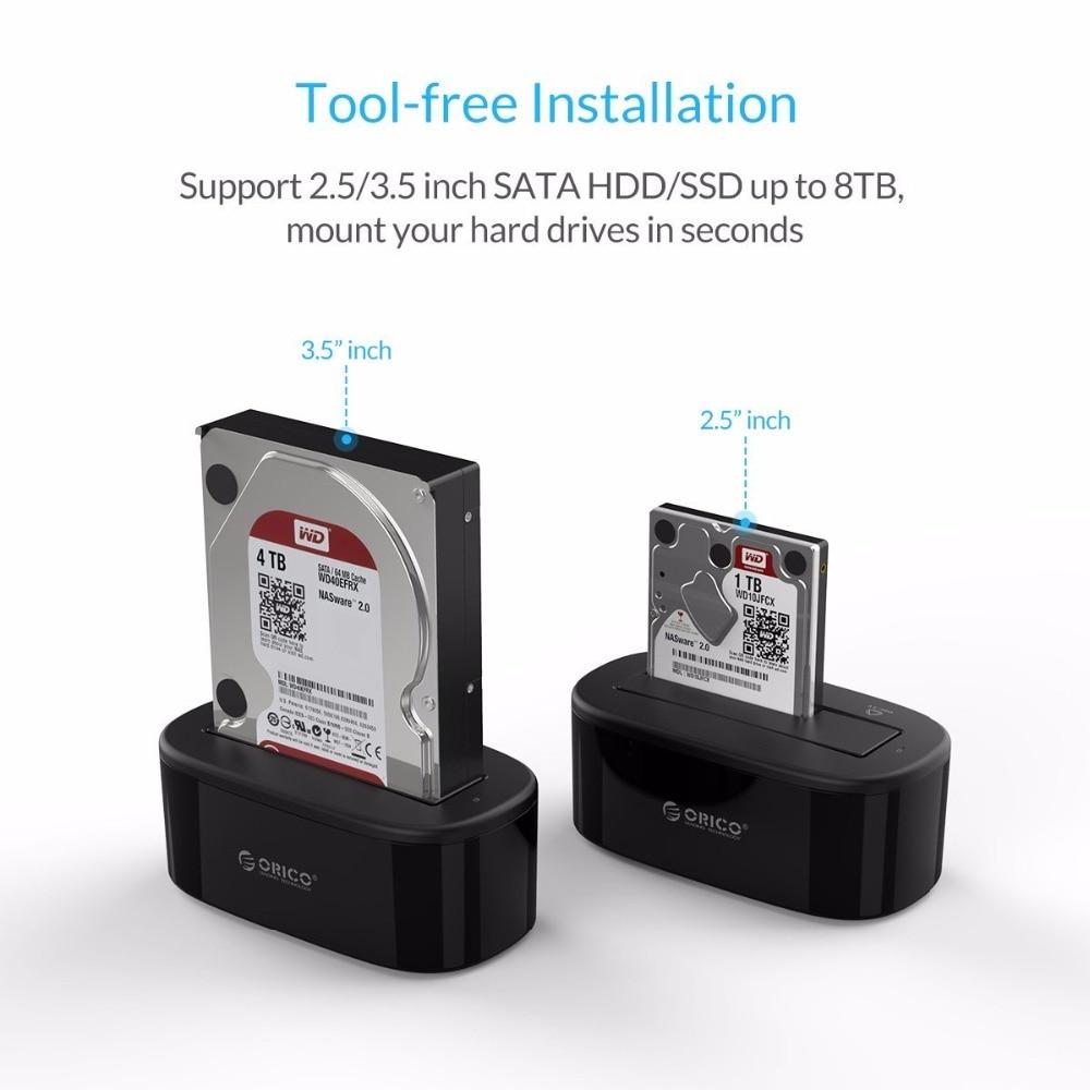 ORICO USB 3.0- ից SATA Արտաքին կոշտ սկավառակի - Արտաքին պահեստավորման սարքեր - Լուսանկար 3