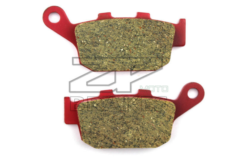 Motorcycle parts Brake Pads Fit HONDA XRV 750 P/R/S/T/V/W/X/Y Africa Twin 1994-2003 Rear OEM Red Ceramic Composite Free shipping