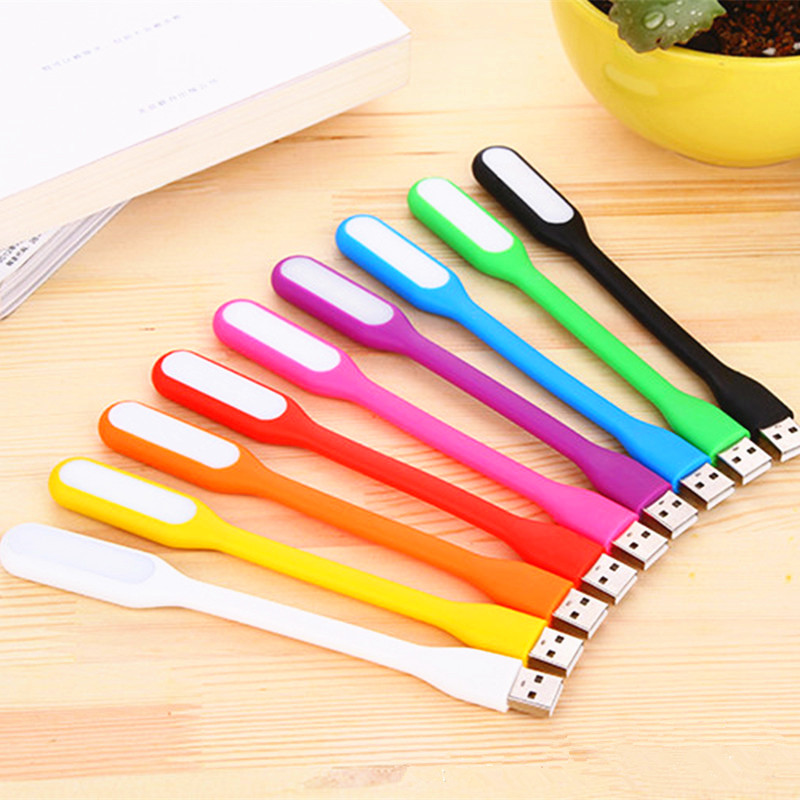 USB Power bank font b LED b font font b Night b font light Mini notebook