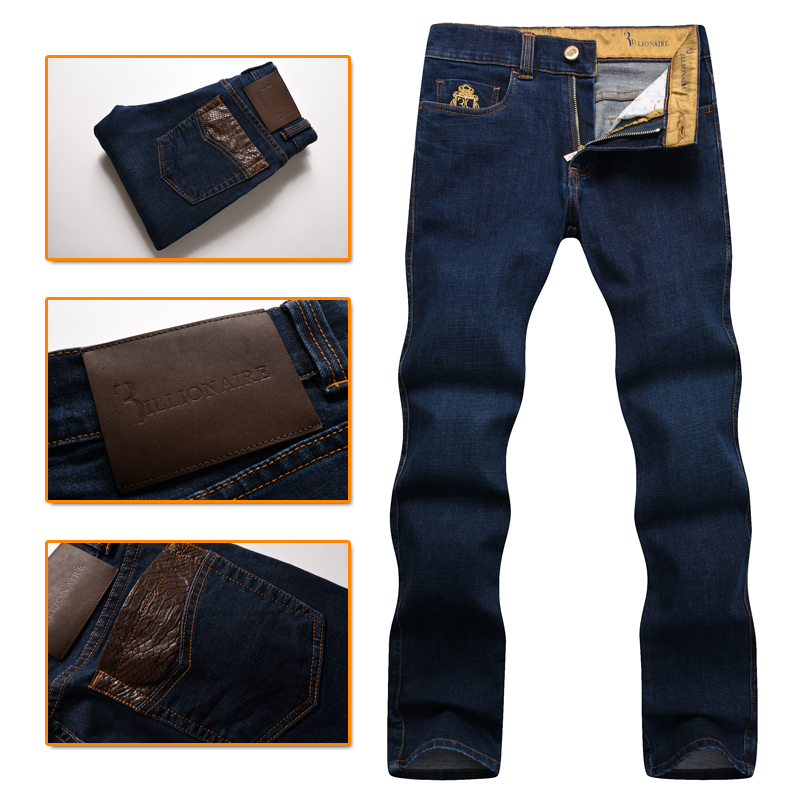 Billionaire Italian Couture   jean   men's 2016 popular autumn and winter commere fashion high quality gentleman free shipping