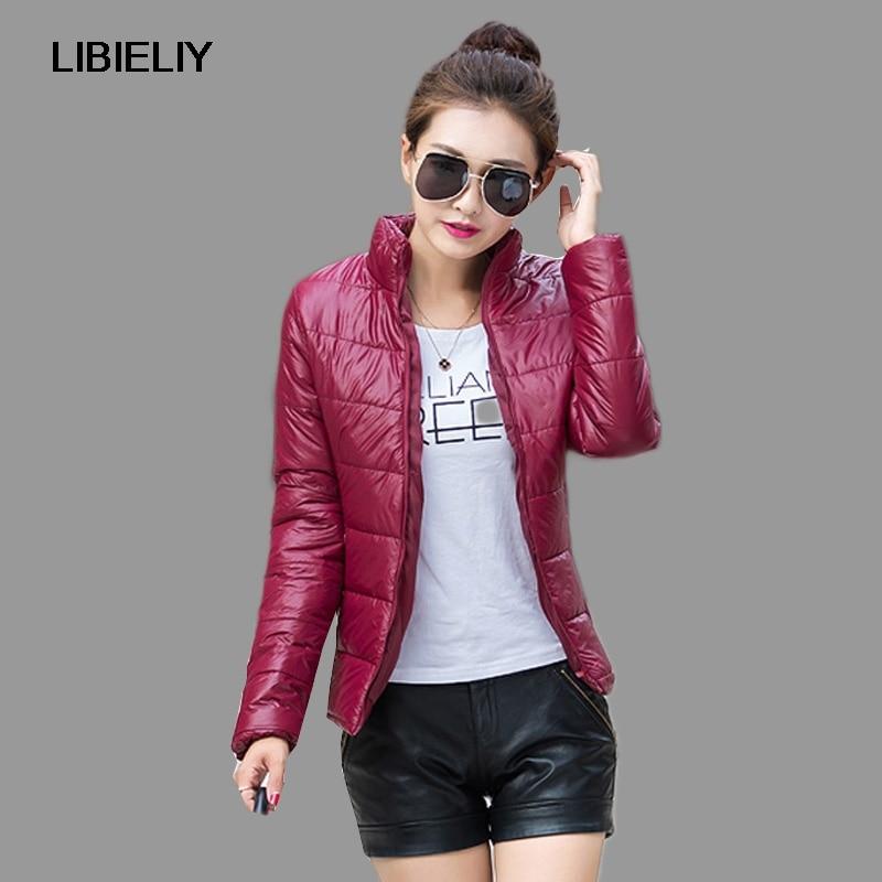 Nice Winter   Jacket   Women Down Coat Fashion Autumn Female Parkas Cotton Casual   Basic     Jackets   Wadded Plus Size S-XXXL