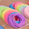 2014 New Fashion Rainbow Silicone Gel Bracelet / Neon Color Rubber Bands Bracelet / Hairband Rope With Night Light  JJ171