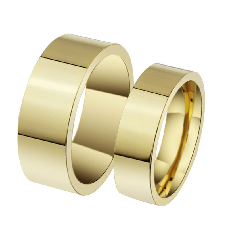 Modyle 2018 New Fashion Gold Color Wedding Ring Engagement Rings For