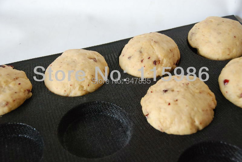 freies verschiffen flexible hamburger backformen perforierte antihaft silikon fach hergestellt in china silikon backblechchina - Kuchen U Form Bilder