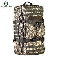 2018 Для мужчин Военная Униформа тактика рюкзак большой Ёмкость 60L отдыха Многофункциональный рюкзак для ноутбука Водонепроницаемый нейлон