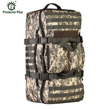 2018 Men Military Tactics Backpack Large Capacity 60L Leisure Multifunction Laptop Backpack Waterproof Nylon Schoolbag