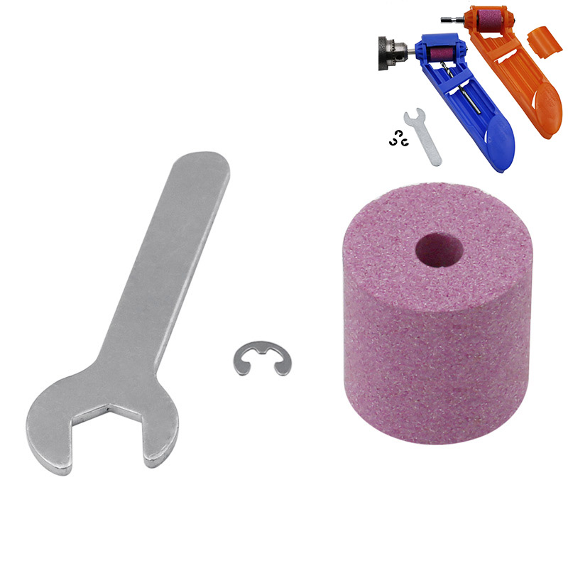Portable Drill Sharpener For Grinding Tools For Drill Sharpener Power Tools 1 Set Of Jade Wheels