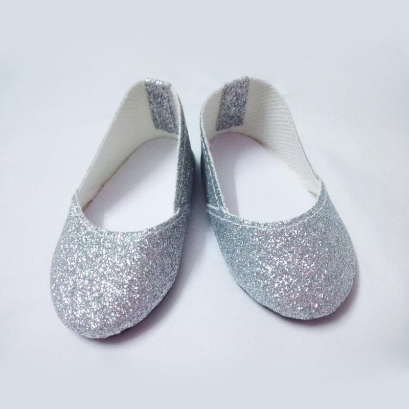0b20f838bb98bc Zilveren glitter boog schoenen die 18