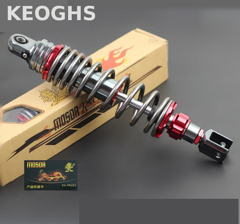 цена на Keoghs Motorcycle Rear Shock Absorbers Rebound Damping Adjustable 320mm 7 Colors For Yamaha Honda Kawasaki Suzuki Scooter Modify