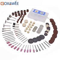 141 pièces outils abrasifs pour Dremel outil rotatif accessoire Set convient pour Dremel perceuse meulage polissage Dremel outils accessoires
