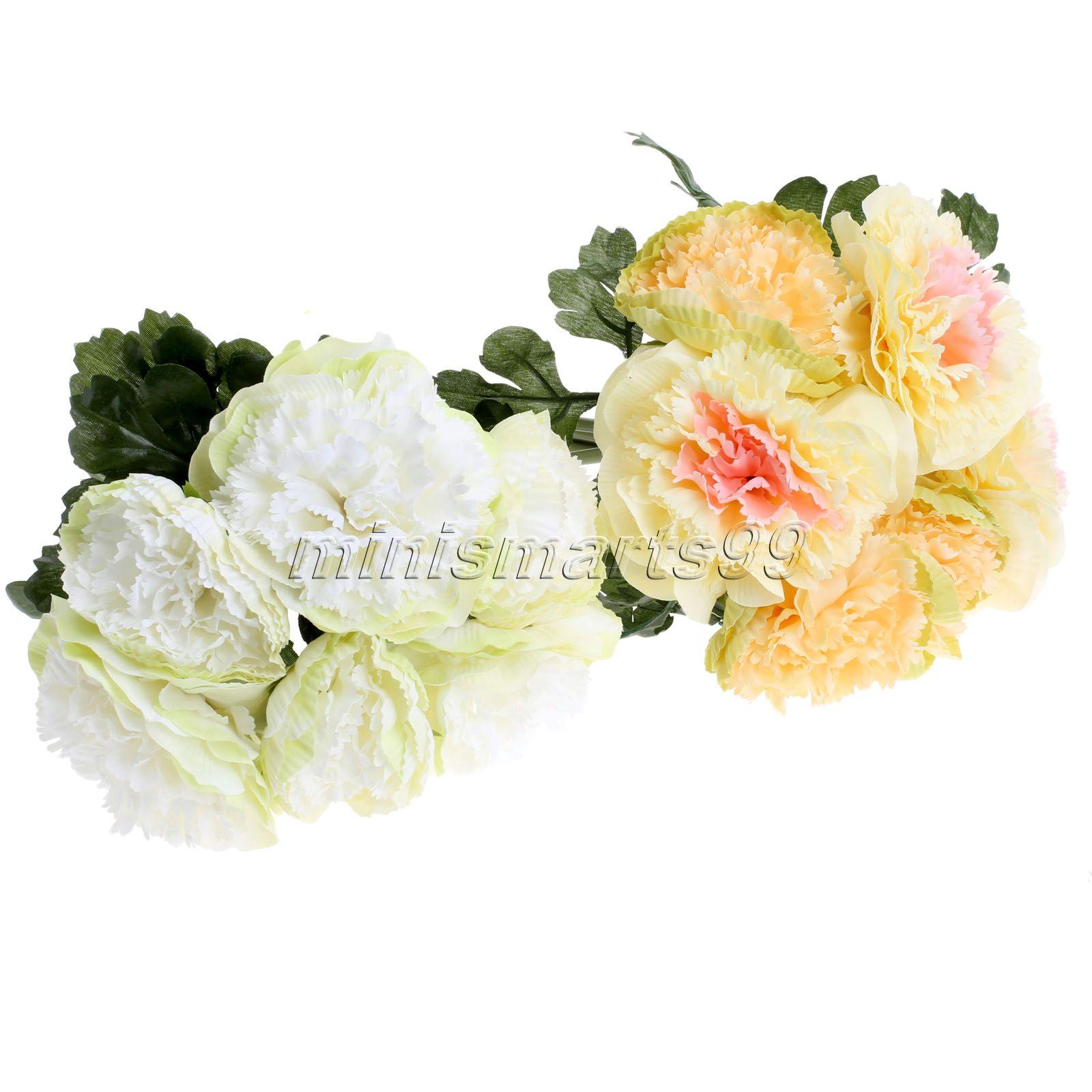 Online Kaufen Großhandel Silk Blume Pfingstrose Aus China Silk ... Blumen Behaltern Zu Hause