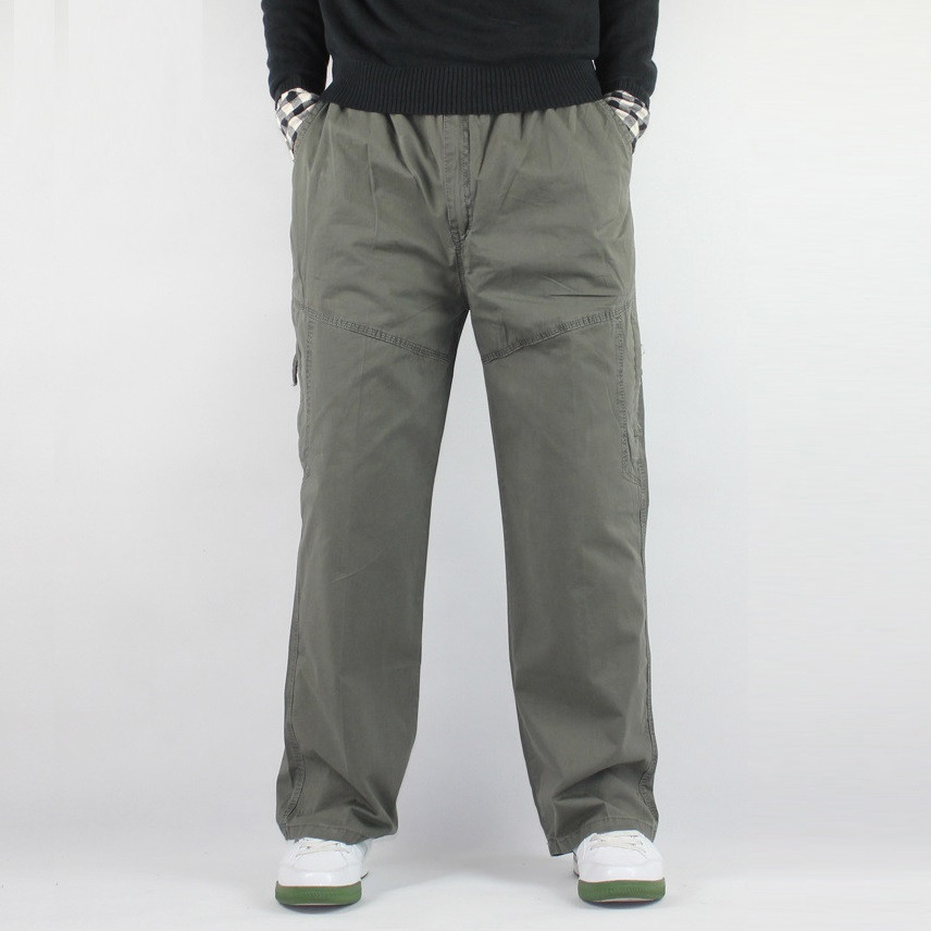 Comfort is the key ingredient in our Mens % Cotton pants. Covered elastic waists with drawstring make this selection of comfort just what you want to wear. To work, to the gym, or simply relaxing in style, you'll want to wear them all.