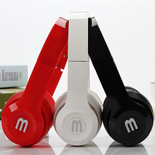 Foldable Headband Wired Headphones Portable Casque Audio With Microphone 3.5mm Music Head Phones For PC Computer Phone MP3 MP4