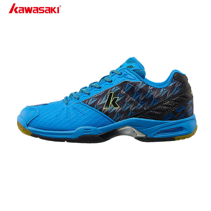 Kawasaki Badminton Court Shoes Professional Men Women Sports Shoes Brand Sneakers Anti-torsion Anti-Slippery Comfortable K-519