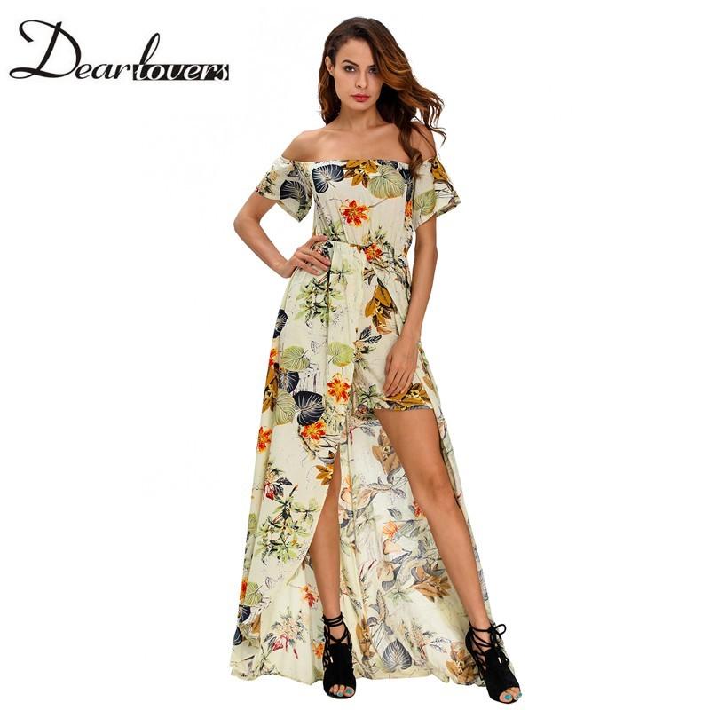 HTB1se9wNFXXXXXhXFXXq6xXFXXXm - Maxi Dress Floral Slit Romper Long Dress JKP062