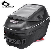 CUCYMA Motorcycle Bag High-capacity Moto Tail Quick Release Buckle Multi-function Fuel